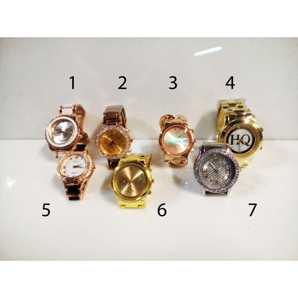 Stylish women wrist watch HQ with metal wristlet