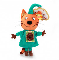 Compote the Cat soft Toy from Three cats Cartoon with russian chip