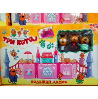 Three Cats cartoon heroes set