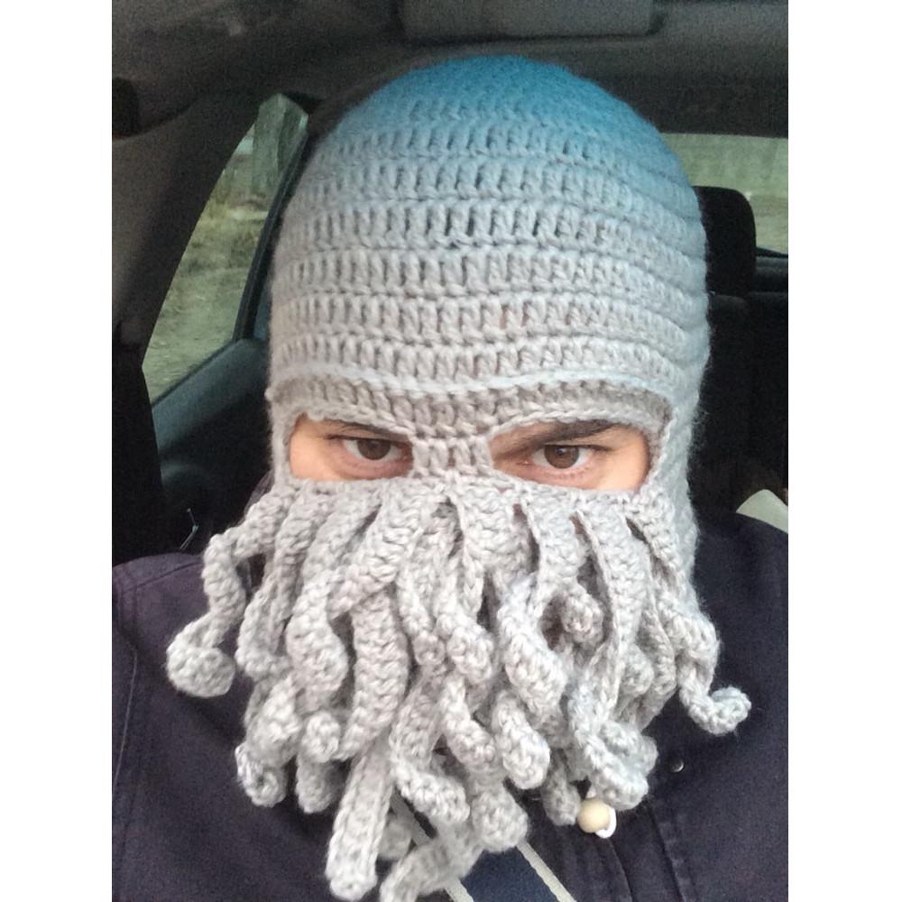 Siltā ziemas Ktulhu astoņkāja cepure
