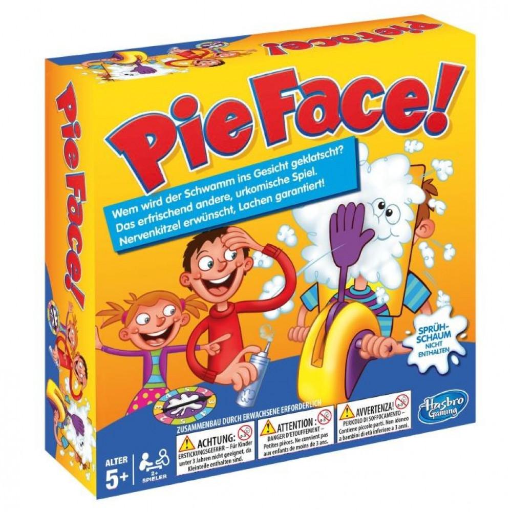 Spēle Pīrāgs sejā - Pie Face