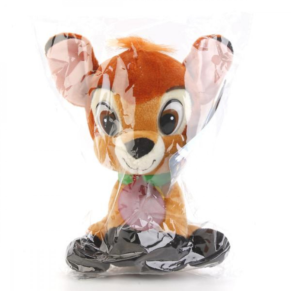 Bambi the deer Disney Studios Cartoon Toy with russian chip