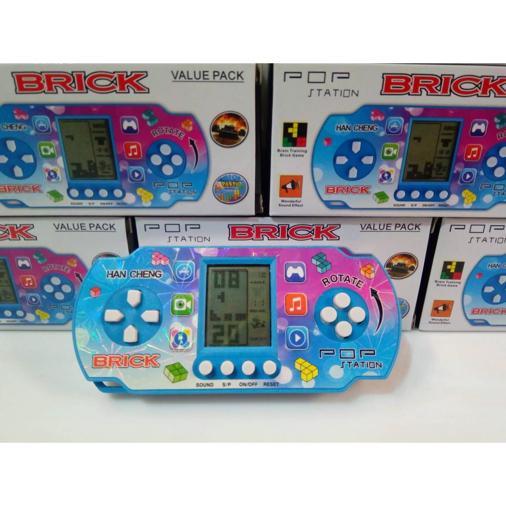 Klasiskā attīstošā rokas rotaļlieta Tetris - Brick Game