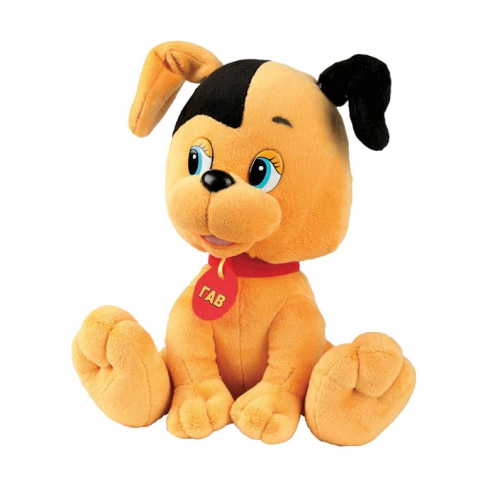 Mīkstā rotaļlieta Multi-Pulti - kucēns Šariks no multenes Kaķis Gavs ar krievu balss čipu