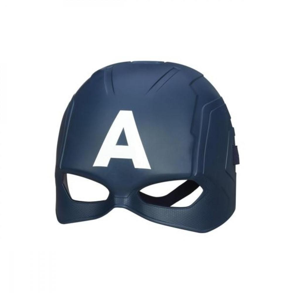 Catpain America or Halk mask