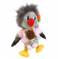 Soft toy Crowy from Goodnight kids TV-show with RUSSIAN CHIP