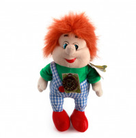 Soft toy Karlsson from Karlsson living-on-the-Roof cartoon with RUSSIAN CHIP