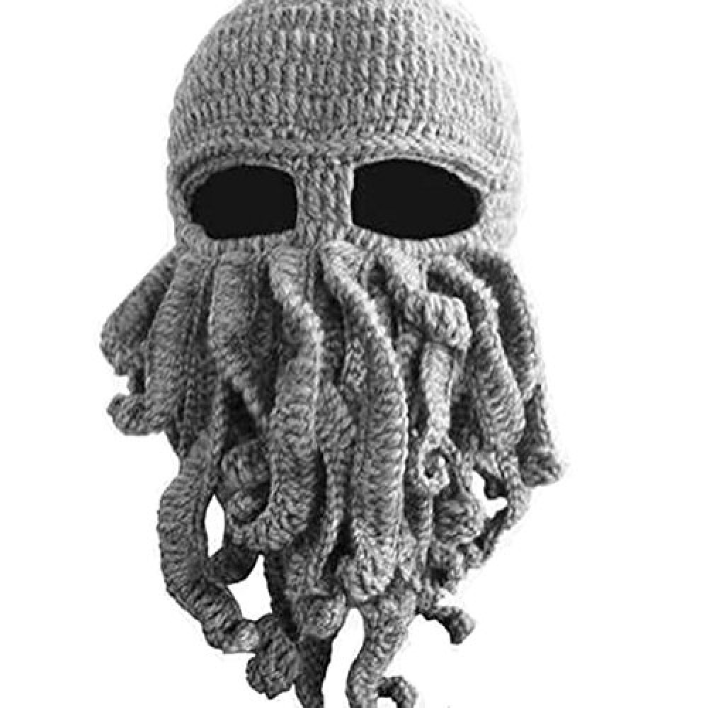 Cthulhu Octopus Knit Cap Wind Mask