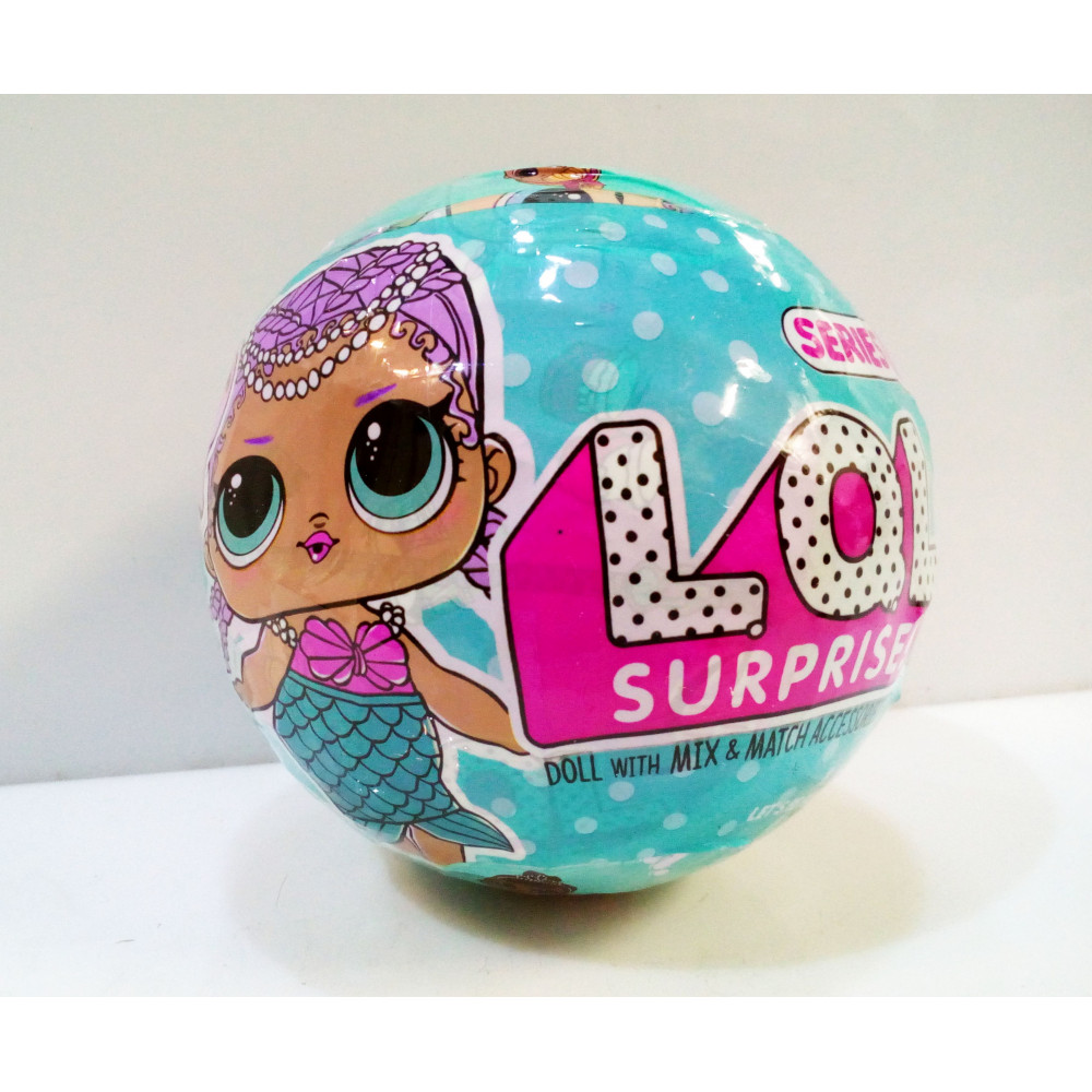 LOL - surprise doll replique - LQL surprise doll with accessoires