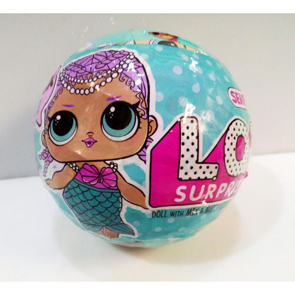 LOL - surprise lelles replika - LQL surprise lelle ar aksesuāriem