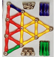 Magnetic Game, 50 pcs
