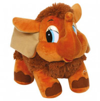 Soft toy Mammoth from a cartoon Mother for a little mammoth