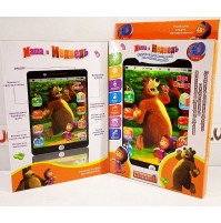 4D tablet for kids Masha and the Bear XXL, voice responding