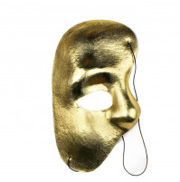 Classical Phantom of the Opera mask - Venetian Mardi Gras Carnival One Eye Half Mask