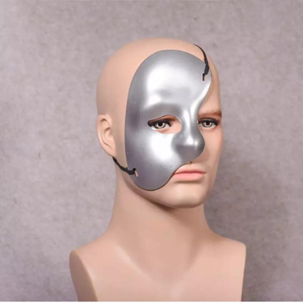 Classical Phantom of the Opera mask - Venetian Mardi Gras Carnival One Eye Half Mask