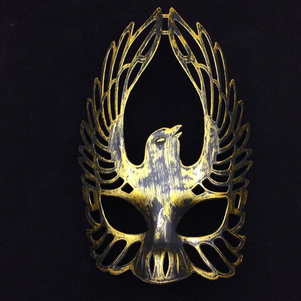 Classic Metal Plated Ancient Roman Army SPQR Legionnaire Mask - Helmet