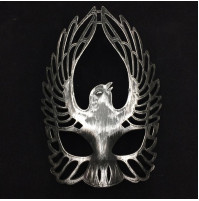 Classic Metal Plated Ancient Roman Army SPQR Legionnaire Mask - Helmet