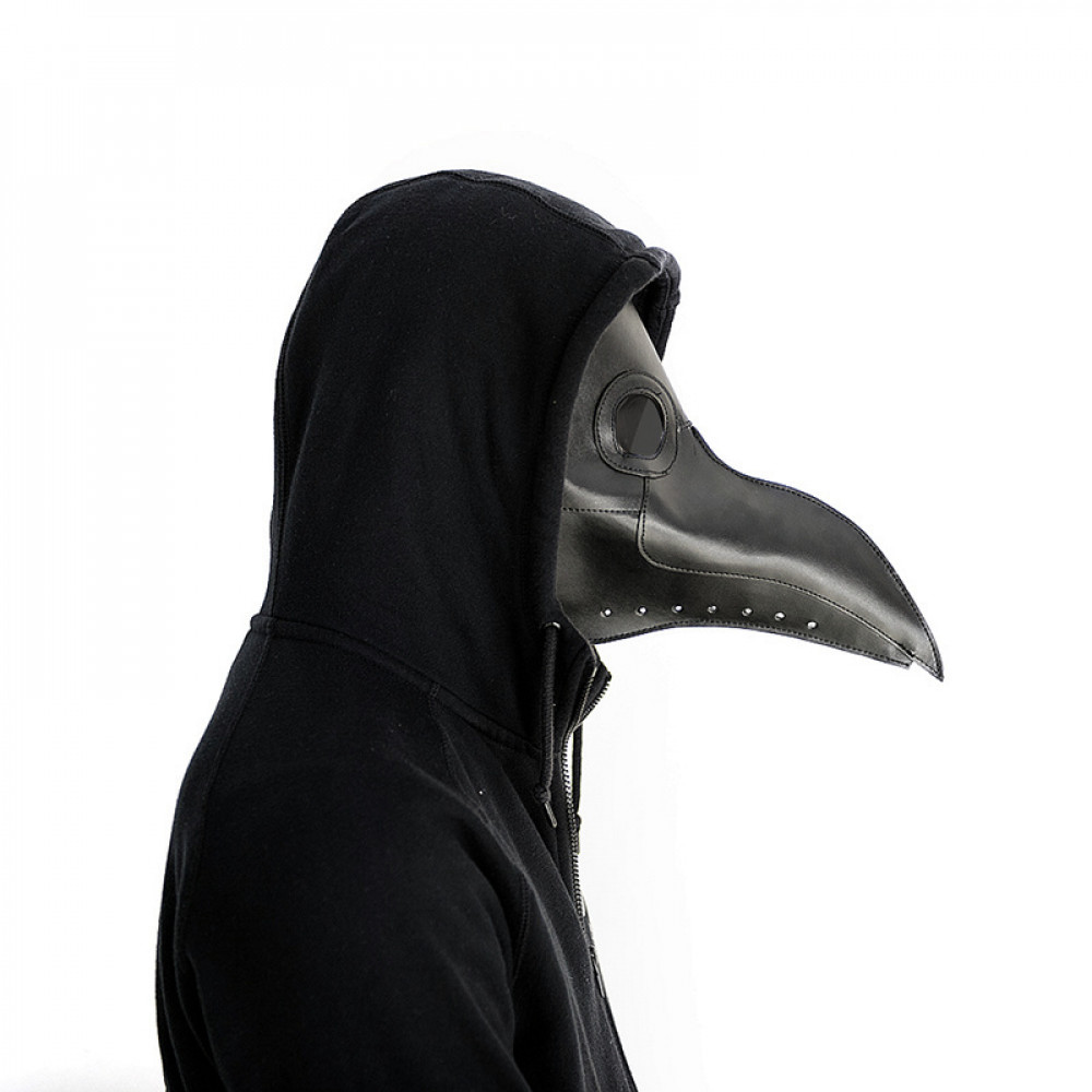 Crow's Beal - Middle Age doctor's anti-plague mask, plague doctor