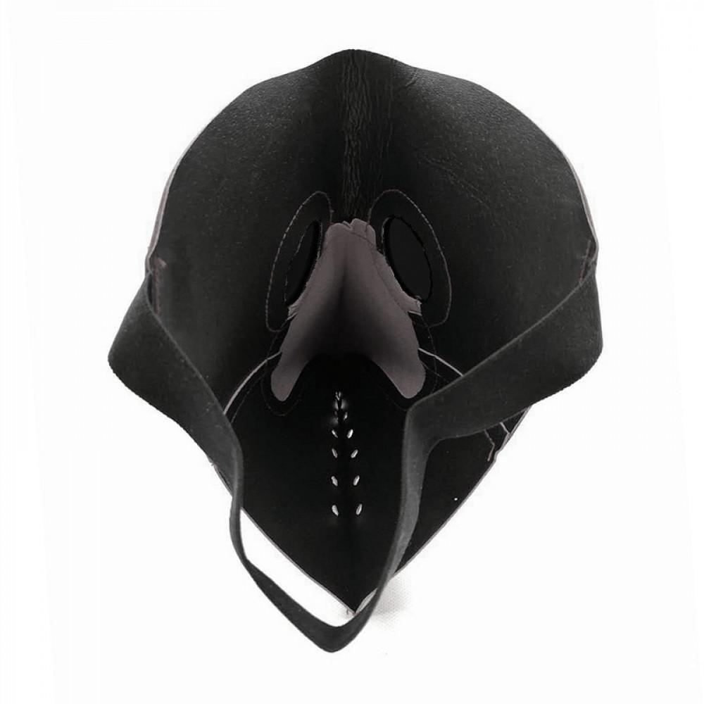 Kraukļa knābis - Viduslaika daktera pretmēra profilakses maska