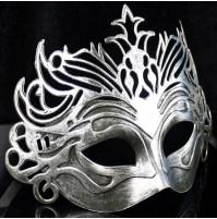 Venetian Carnival Half Mask - openwork pattern mask for Mardi Gras masquerade