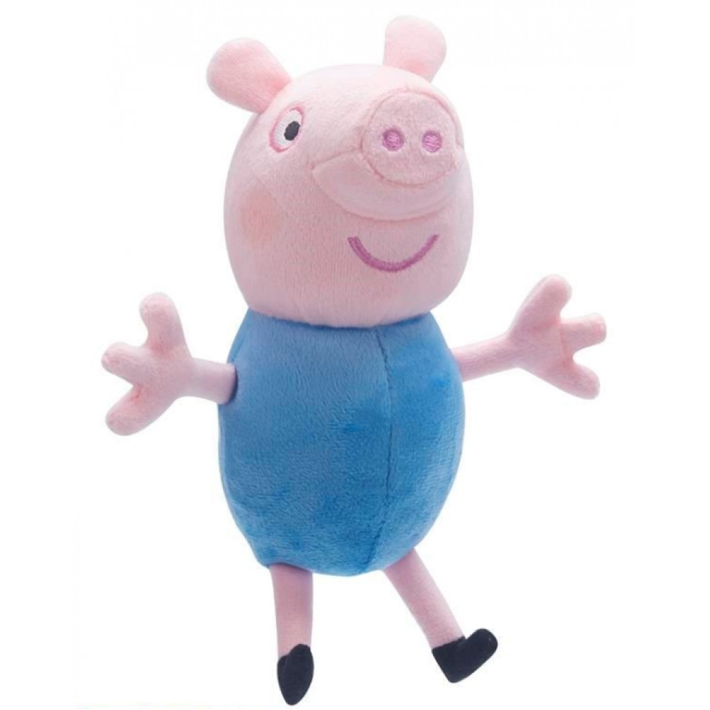 Soft toy Peppa, her brother George Peppa Pig