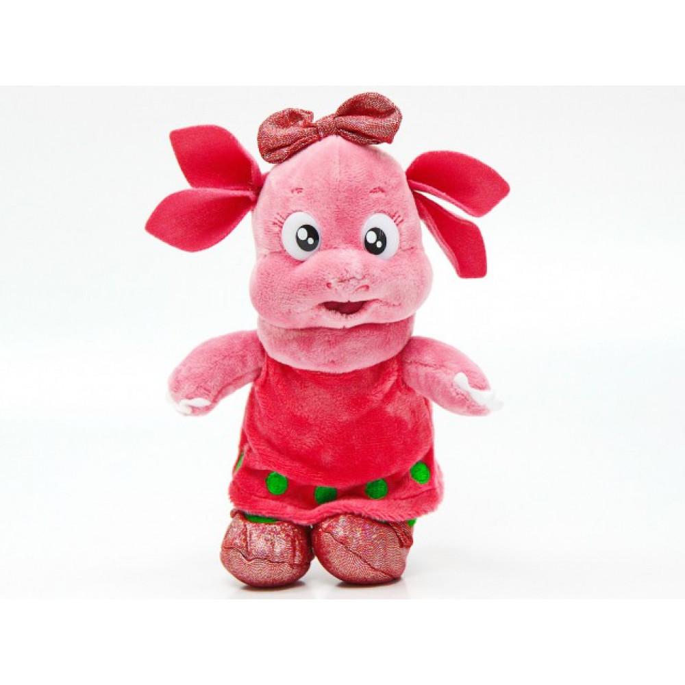 Mīksta rotaļlieta Luņa - Luntika draudzene no multfilmas Luntiks un viņa draugi, ar krievu moduli