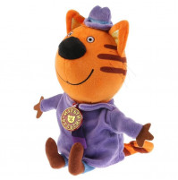 """Daddy the Cat soft Toy from """"3 cats"""" cartoon series with russian chip"""