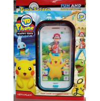 4D toy smartphone for kids Pokemons