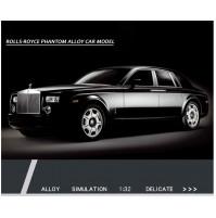 Metāliskais Rolls-Royce Phantom automašīnas modelis ar gaismiņām un un skaņu, Mērogs 1/24