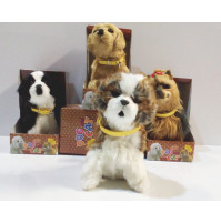 A Dogs Year's gift  - a toy - dancing dog from Dogs & Cats series