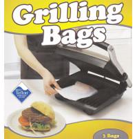 NOSTIK permanent baking foils - Nostik Grilling bags - 3 pcs