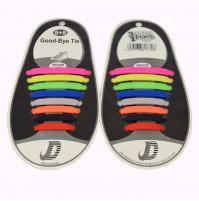 Silikona šņores-klipses apaviem