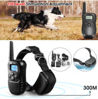 Dog electronic training remote collar