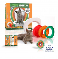 Litter Kwitter CAT TOILET TRAINING SYSTEM for RENT - train your cat to the toilet