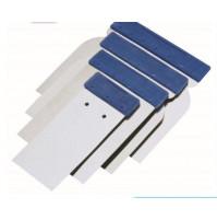 Plastic scraper blade steel 4 pcs