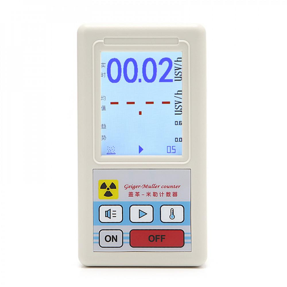 Geigera skaitītājs ķimiskas radiācijas kabatas noteicejs -  kodolstarojuma detektors