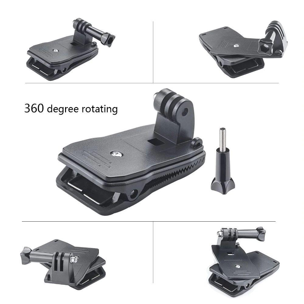 Gopro  HD HERO un HD HERO2 tipa sporta kameras 1/4' stiprinājums, dažādi veidi