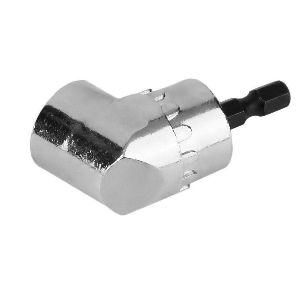 Corner adapter for  battery powered drill-screwdriver