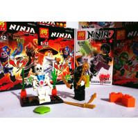 Ninja minifigures x 2