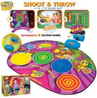 Zippy Shoot & Throw play dance mat