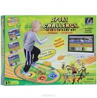 Interaktīvais rotaļu paklājiņš Sporta izaicinājums