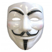 Anonymous Guy Fawkes V for Vendetta karnevāla maska anomins