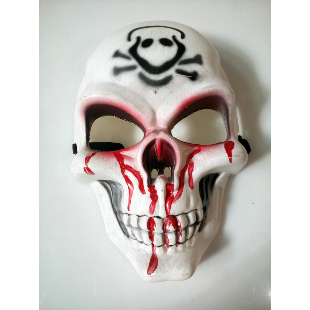 Bloody Skull's Face Mask