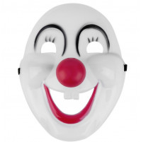 Crazy Clown Halloween Face Mask