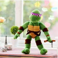 Mīkstā rotaļlieta Bruņurupuči nindzjas - Donatello