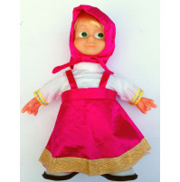Masha doll, Bambola di Masha e l'Orso, that runs and sings a song, 29 cm
