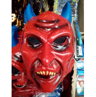 Red Devil's Face Mask