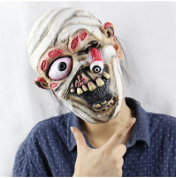 White Mummy Face Mask