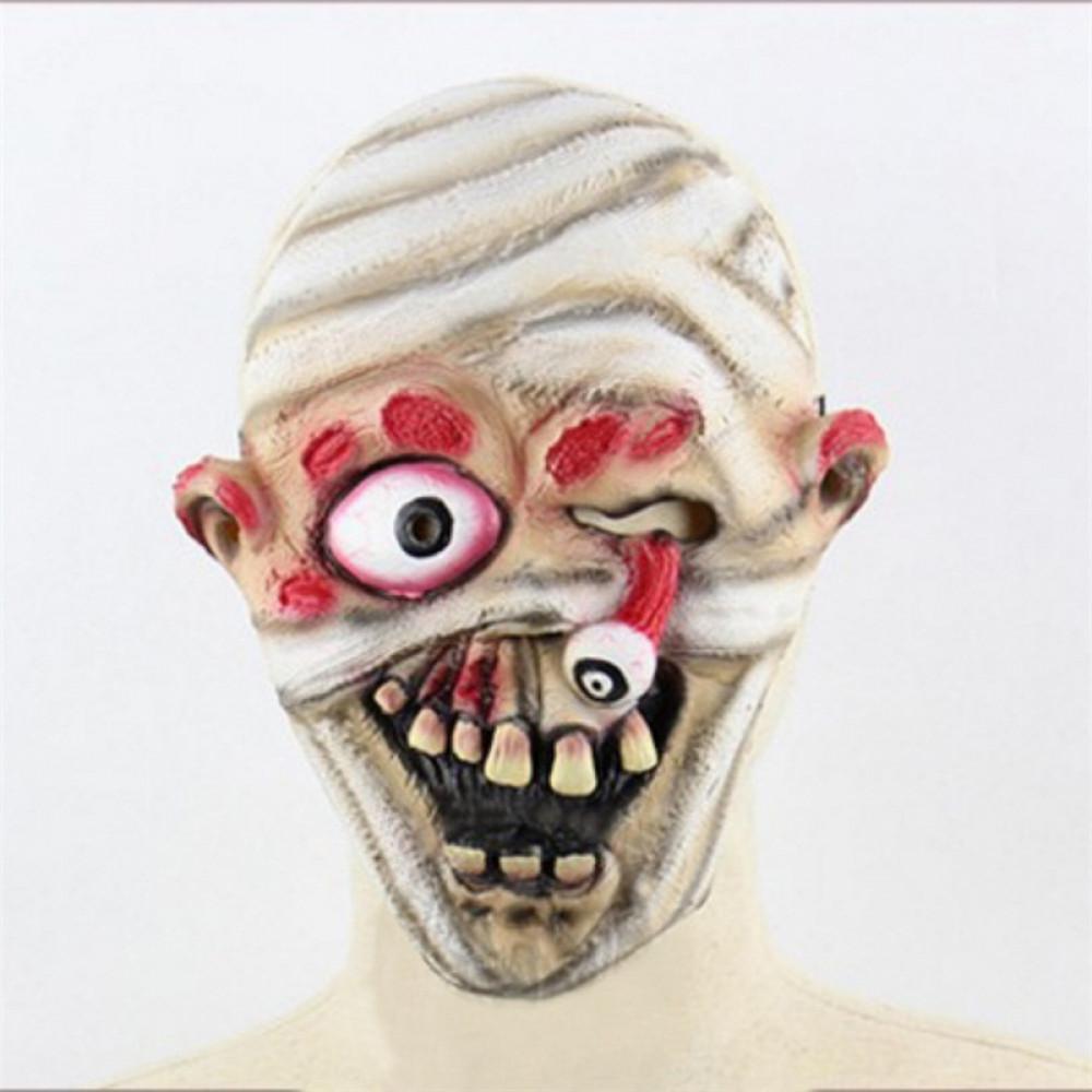 Baltas mumijas maska