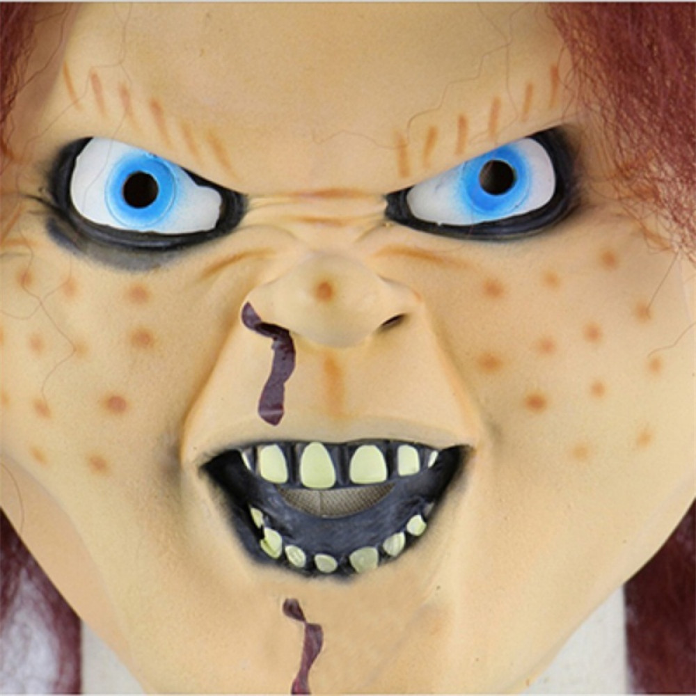 Chucky Face Mask from the same named scary movie Chucky